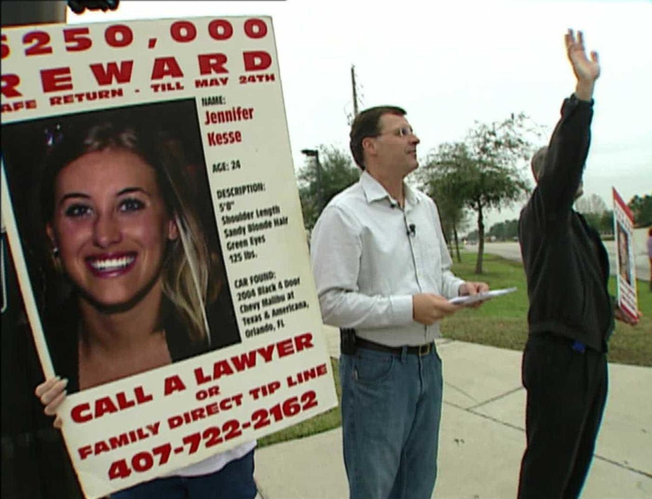 Parents of Jennifer Kesse take over investigation in hopes of solving missing daughter's case
