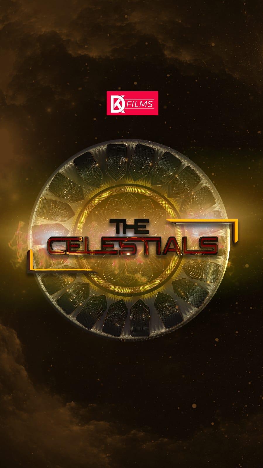 "Dushyant Kapoor announces his next superhero web series ""The Celestials – Rise of Heroes"""